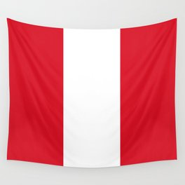 Flag of Peru Wall Tapestry
