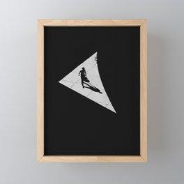 Triangle Framed Mini Art Print