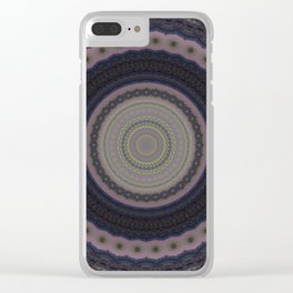 Recreational Maylanta Mandala 81 Clear iPhone Case