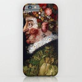 Giuseppe Arcimboldo Spring iPhone Case