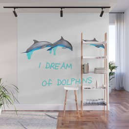 Dolphin Dream Wall Mural
