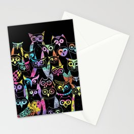 Owls for ever Stationery Cards
