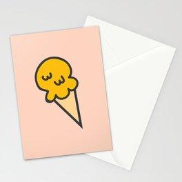 Banana Ice-cream Stationery Cards