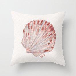 beach shell Throw Pillow