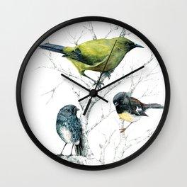 the cutie trio Wall Clock