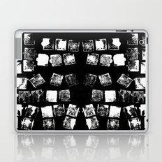 Stamp Black and White Laptop & iPad Skin
