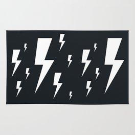 Lightning bolts Rug