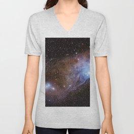 Coloured Nebula in Scorpius Unisex V-Neck