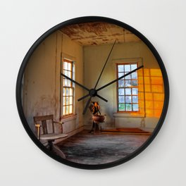 End of Study Wall Clock
