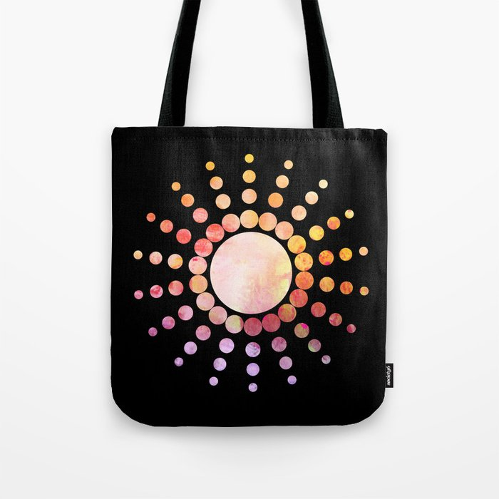 Modern Sunshine Tote Bag
