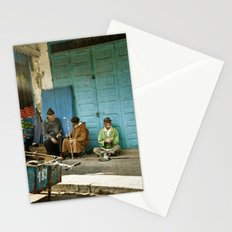 North African tea time Stationery Cards