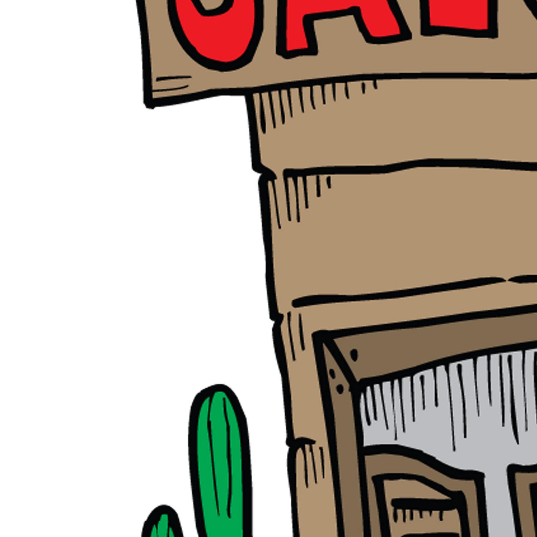 Tombstone Arizona Leggings
