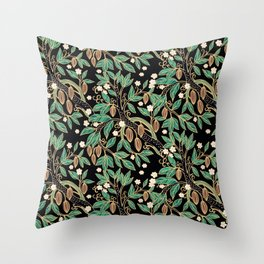 Cacao, cacao Throw Pillow