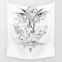 Headlights Wall Tapestry