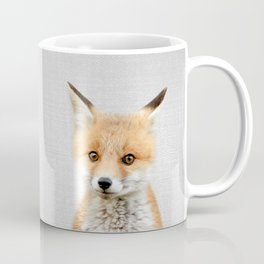 Baby Fox - Colorful Coffee Mug