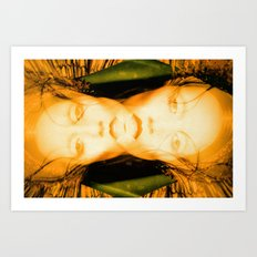 Beauty in things exists merely in the mind which contemplates them, Double Vision Art Print