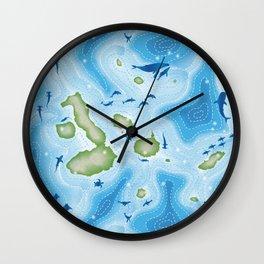 Enchanted Islands Wall Clock