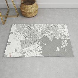 Doha Map Line Rug