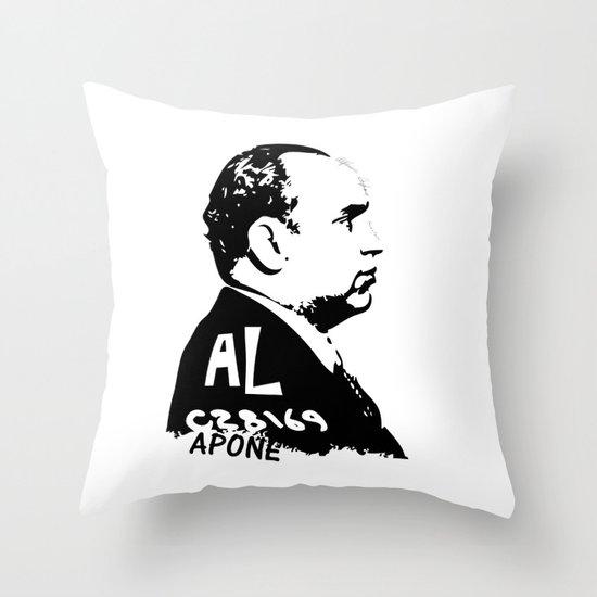 Al Capone Throw Pillow