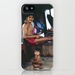 The Amazon Houseboat iPhone Case