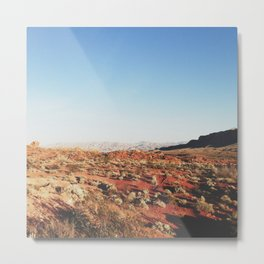 Outside the Red Rocks Metal Print