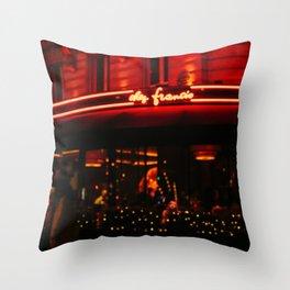 Paris Out of Focus II Throw Pillow