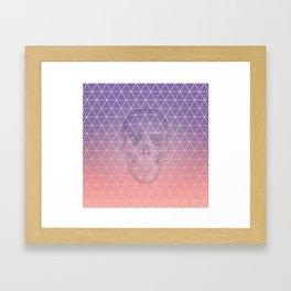 The Grin Reaper Framed Art Print