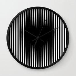 Heart optical illusion art #society6 #decor #buyart #artprint Wall Clock