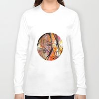 anime Long Sleeve T-shirts featuring Anime 2 by Del Vecchio Art by Aureo Del Vecchio