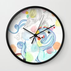 The Siren Wall Clock