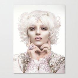 Pale Queen Canvas Print