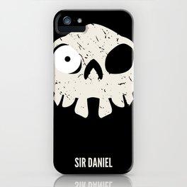 Sir Daniel iPhone Case