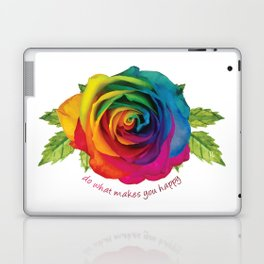 Do What Makes You Happy Laptop & iPad Skin