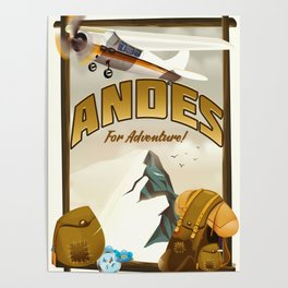 """Andes """"For Adventure!"""", Poster"""
