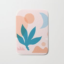 Abstraction_Nature_Companion_001 Bath Mat