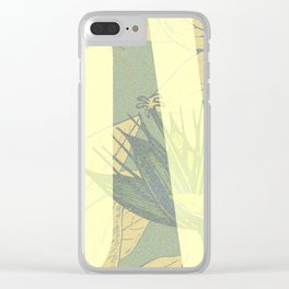 Love and Peaches Clear iPhone Case