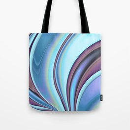 Abstract Fractal Colorways 02PrBl Tote Bag