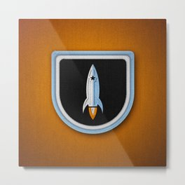 Club Scouts - Forever Orange Metal Print