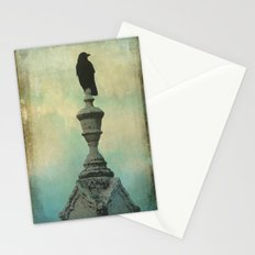 Ornate Crow Stationery Cards