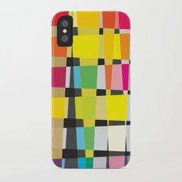 Little Boxes of Colour/Color iPhone Case