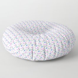 Ramps and Rails Pattern Floor Pillow