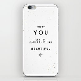 Today 3 iPhone Skin