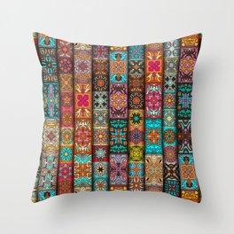 Boho Chic, Tribal Pattern Throw Pillow