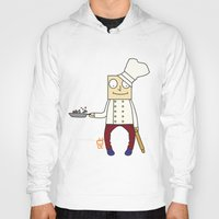 chef Hoodies featuring THE CHEF!! by Riot Clothing