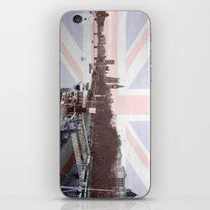 London Skyline and Union Jack Flag  iPhone & iPod Skin