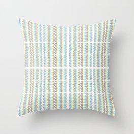 curtains Throw Pillow