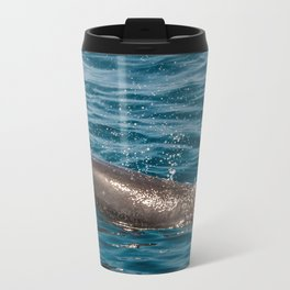 Bottlenose Dolphin Metal Travel Mug