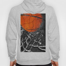 Basketball Art, Sports Artwork Hoody