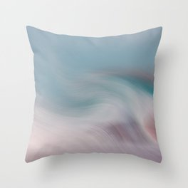 Surreal Waves 1 Throw Pillow