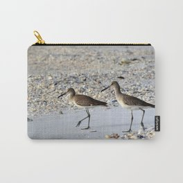 Willets in the Winter Carry-All Pouch